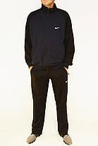 Мужской спортивный трикотажный костюм M - 3XL Спортивный мужской комплект в хороших размерах, фото 3