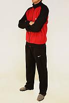 Мужской спортивный трикотажный костюм M - 3XL Спортивный мужской комплект в хороших размерах, фото 2