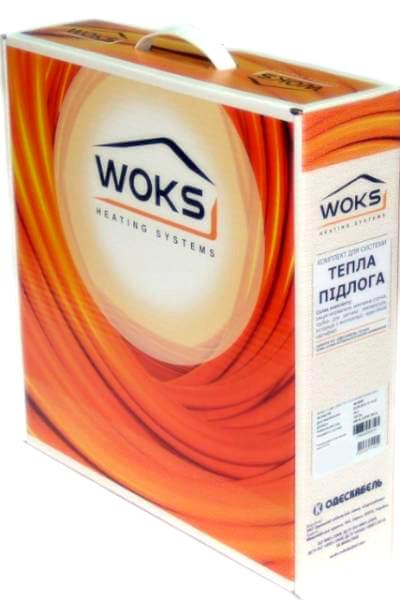 Электрический теплый пол кабель Woks-17 785 Вт 49м (двухжильный)