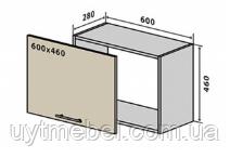 Кухня Колор Mix 600 В акап/50 белый/белый глянец (VIP master)