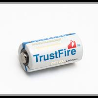 Батарея живлення CR123 Trustfire, фото 1