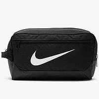 Сумка для обуви  Nike BRASILIA SHOE - 9.0 черная BA5967-010
