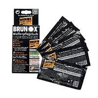 Brunox Gun Care серветки для догляду за зброєю  5шт в коробці, фото 1