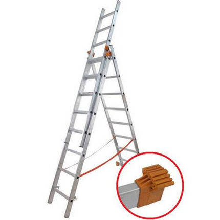 Лестница универсальная 3х9 Budfix 01409, фото 2