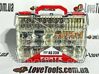 Набір насадок для гравера 239шт Forte AS 239
