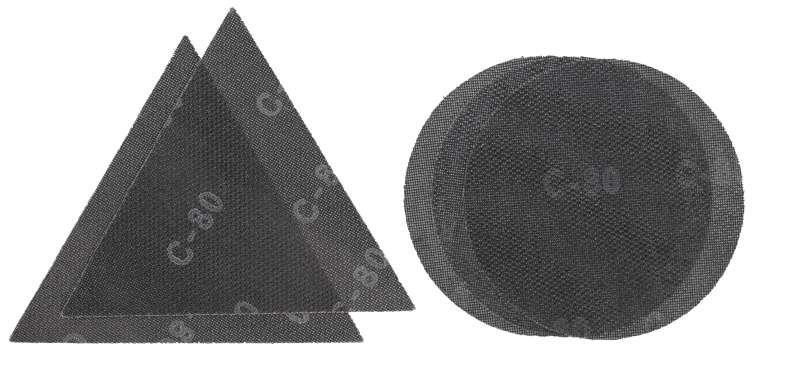 Набор бумаги шлифовальной для шлифмашины для стен и потолка 5шт KWB 491005