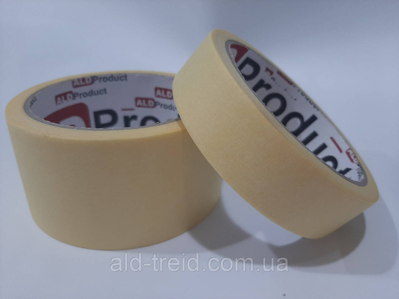 Скотч малярный 24*20 (40 мкм) ALD Product желтый