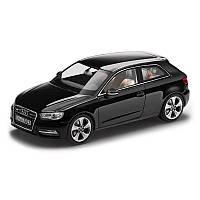 Модель Audi A3, Phantom black, 2013, Scale 1 43, артикул 5011203033