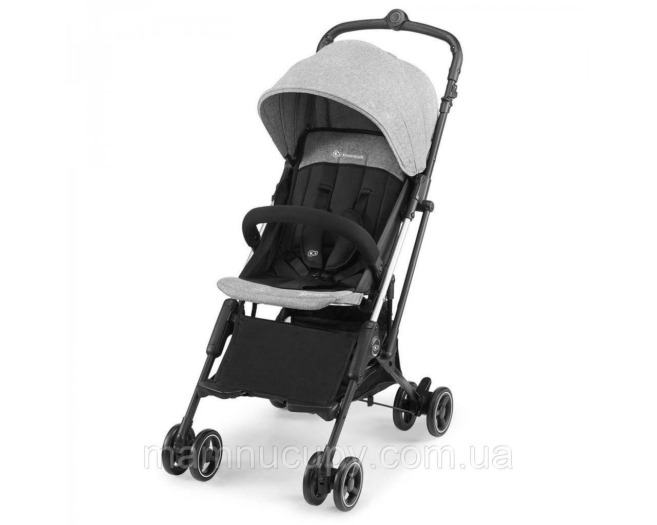 Дитяча прогулянкова коляска Kinderkraft Mini Dot Grey (Киндеркрафт Міні Дот)