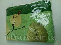 "Простынь на резинке ""Зеленая бабочка"" 180х200х20, фото 3"