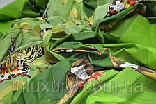 "Простынь на резинке ""Зеленая бабочка"" 180х200х20, фото 2"