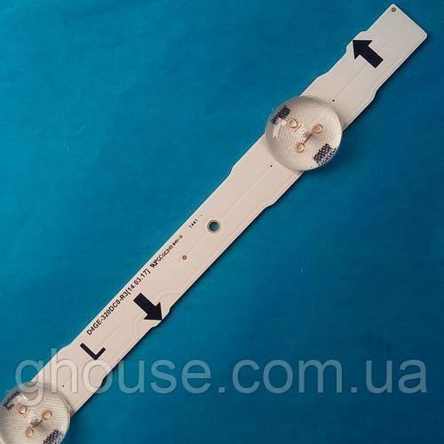 LED Подсветка телевизора Samsung UE32H4270AU UE32H4000AK подсветка D4GE-320DC0-R3 (R2)
