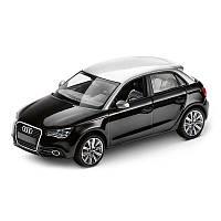 Модель Audi A1 Sportback, Phantom black, Scale 1:43, артикул 5011201033