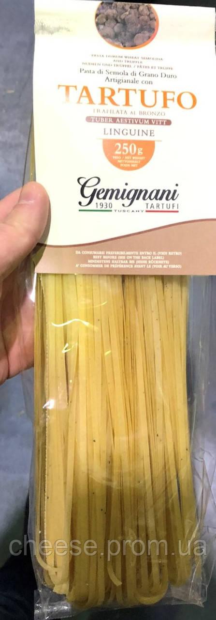 Паста з твердих сортів пшениці з чорним трюфелем 1% 250 г Gemignani Tartufi