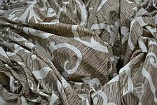 Простирадло на гумці Вензелі кремові 80х200х20, фото 2