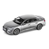 Масштабна модель Audi A6 (С8), Taifun Grey, Scale 1:43, артикул 5011806131
