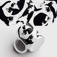 Кружка с котами. Чашка с принтом Коты. Чашка с фото, фото 1