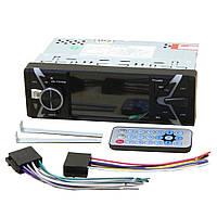 Автомагнитола 1 DIN DEH-9701RGB с экраном 4 дюйма, Bluetooth, USB, FM, AUX, евроразъемом и пультом на руль