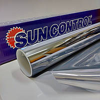 Зеркальная R Silver 20 солнцезащитная плёнка для тонировки стекла ширина 1,830 (цена за кв.м.), фото 1