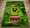Плед з 3D принтом - Бравл Старс Спайк Green Brawl Stars