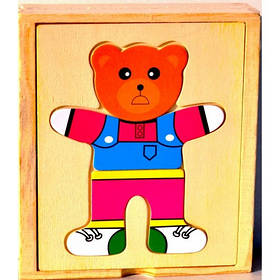 Деревянная игрушка Мишка B201