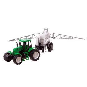 Игрушечный трактор с прицепом Водовоз 789-A27