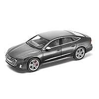 Масштабна модель Audi S7 Sportback Limited, Daytona Grey, Scale 1:43, артикул 5011817031