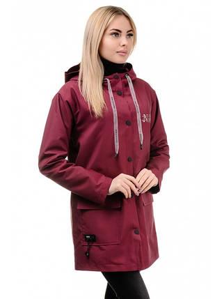 Куртка демісезонна (бордо), фото 2