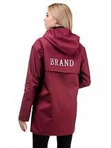 Куртка демісезонна (бордо), фото 3