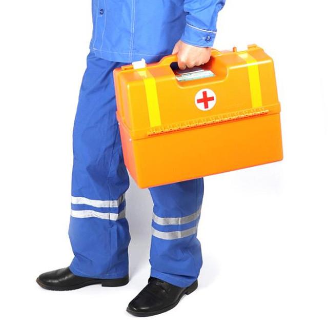 Сумка парамедика, сумка для скорой помощи, медицинская сумка укладка УМСП-01-ПМ2 Медплант