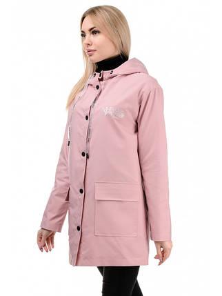 Куртка демісезонна (рожевий), фото 2