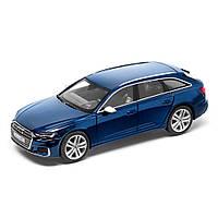 Масштабна модель Audi S6 Avant Limited, Navarra Blue, Scale 1:43, артикул 5011816231