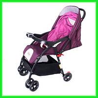Детская прогулочная коляска городская 5461 для маленьких детей Бордо