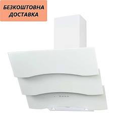 Вытяжка Ventolux PIEMONTE 60 WH (750) TRC SD Наклонная Белая Стекло