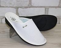 Женские белые тапочки с перфорацией, фото 1