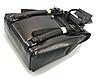 Рюкзак жіночий трансформер сумка з натуральної шкіри Classic Чорний, фото 3