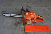 Бензопила Husqvarna 142 (шина 40 см, 3.5 кВт) Цепная пила Хускварна 142