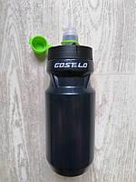 Велофляга для води Costelo 500ml Black ,велобутылка,фляга велосипедна Costelo ,пляшка для води на велосипед, фото 1