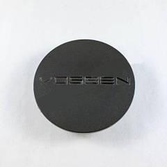 Колпачок в легкосплавные диски Vossen графит (68 мм)