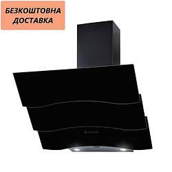 Вытяжка Ventolux PIEMONTE 60 BK (750) TRC SD Наклонная Черная Стекло