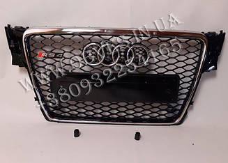 Решітка радіатора Audi A4 стиль RS4