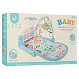 Коврик для младенца 211 73-47, дуга, подвес, пианино-муз, зв, св, проектор, фото 6
