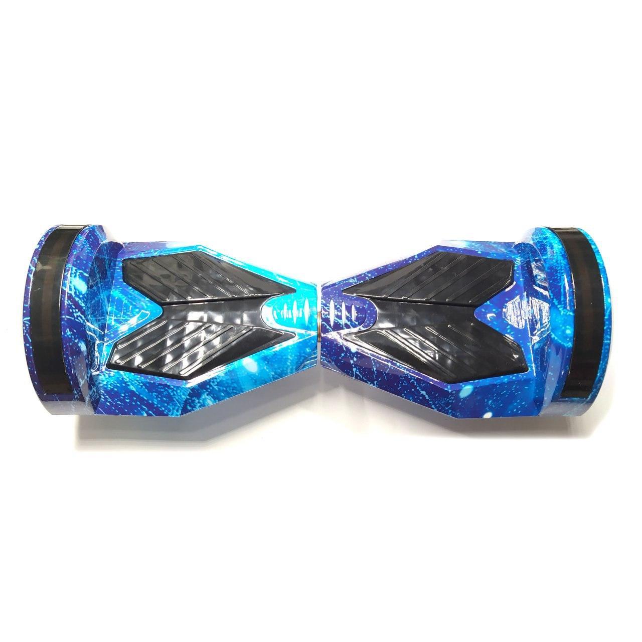 """Гироскутре Smart Balance с подсветкой 8"""" колеса синий космос"""