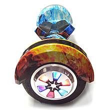 """Гироскутре Smart Balance с подсветкой 8"""" колеса  огонь и лед"""