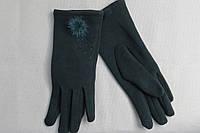 Перчатки теплые, стрейчевые, (с тонким мехом),р-ры от 6,5 до 8,5