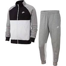 Костюм спортивный Nike Sportswear Fleece Tracksuit BV3017-063 Серый XL