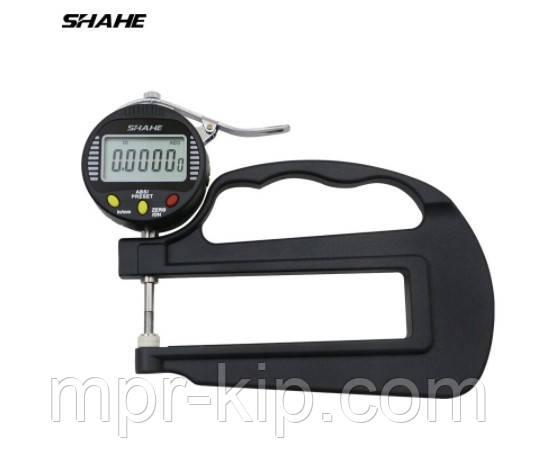 Електронний товщиномір паперу, тканини, поліетилену Shahe 0-10 мм/0,001 (5331-10)
