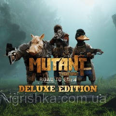 Mutant Year Zero: Road To Eden — Deluxe Edition Ps4 (Цифровой аккаунт для PlayStation 4) П3