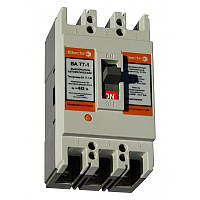 Автоматический выключатель ElectrO ВА77-1-63 3 полюси 006А 10In (8-12In)  Icu 25кА Ics 18кА  400В