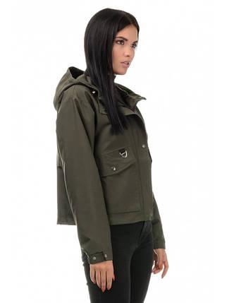 Куртка демісезонна (хакі), фото 2